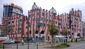 Friedensreich Hundertwasser's famous building