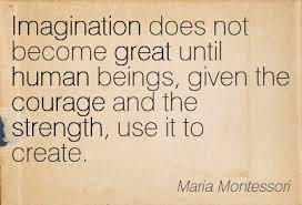 imagination and creation